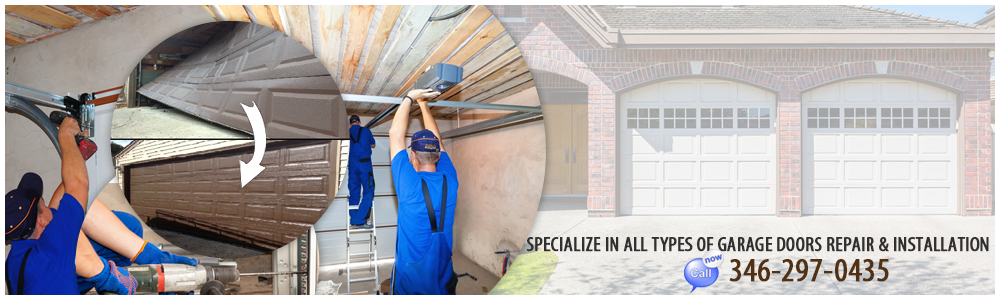 Garage Door Repair Channelview TX banner